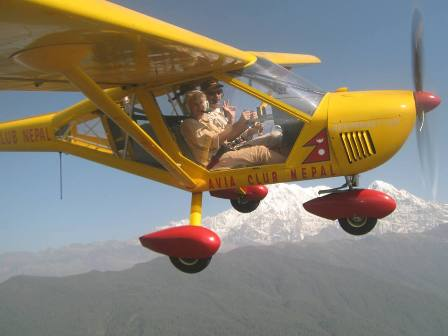 Полет. Гималаи